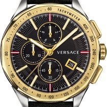 Versace Chronograph 44mm Quartz new