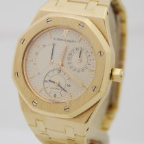 Audemars Piguet Royal Oak Dual Time tweedehands 36mm Geelgoud