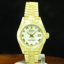 Rolex Lady Datejust 18kt 750 Gold Automatic Damenuhr / Ref...