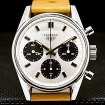Heuer Steel 36mm Manual winding 2447sn pre-owned United States of America, New York, New York City