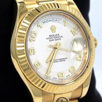Rolex Day-Date II Yellow gold 41mm Champagne United States of America, Florida, Boca Raton