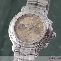 TAG Heuer 6000 Staal 42mm Bruin