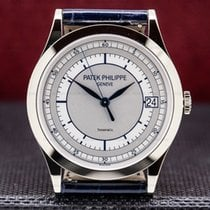 Patek Philippe Calatrava White gold 38mm Silver United States of America, Massachusetts, Boston