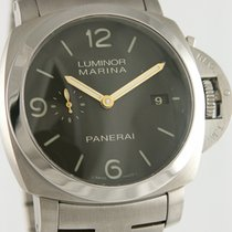 Panerai Luminor Marina 1950 3 Days Automatic Титан 44mm Чёрный