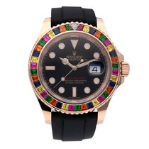 Rolex 116695SATS Or rose 2010 Yacht-Master 40 40mm occasion