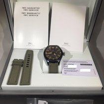 IWC Big Pilot Top Gun Miramar pre-owned 48mm Date Textile