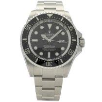 Rolex Sea-Dweller Deepsea Steel 44mm Black No numerals United Kingdom, Liverpool