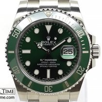 Rolex 116610LV Steel 2017 Submariner Date 40mm pre-owned United Kingdom, London