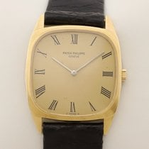 Patek Philippe Oro amarillo 28mm Cuerda manual 3566 medium mid size usados