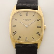 Patek Philippe Yellow gold 28mm Manual winding 3566 medium mid size pre-owned