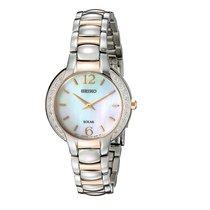 Seiko Women's watch Solar 30mm Quartz new Watch with original box and original papers
