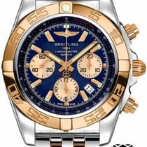 Breitling Chronomat 44 Gold/Steel 44mm Blue United States of America, New York, NEW YORK