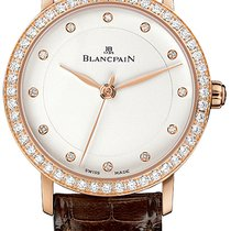 Blancpain Villeret Ultra-Slim Rose gold 29mm Silver United States of America, New York, Airmont