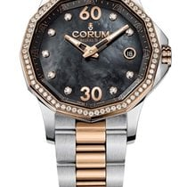 Corum Admiral's Cup Legend 38 Gold/Steel 38mm Mother of pearl United States of America, Florida, Miami