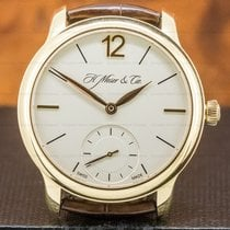 H.Moser & Cie. pre-owned Manual winding 38.8mm Champagne Sapphire Glass 3 ATM