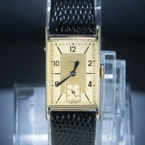 Jaeger-LeCoultre Or jaune Remontage manuel Or Arabes 22mm occasion Reverso (submodel)