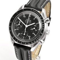 Omega Speedmaster Reduced Zeljezo 38mm Crn