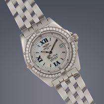 Breitling Wings Lady Stahl 31mm Perlmutt