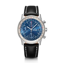 Breitling Navitimer Heritage Steel 41mm Blue United States of America, Iowa, Des Moines