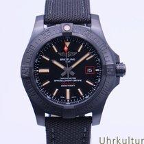 Breitling Avenger Blackbird 44 Титан 44mm Чёрный Без цифр