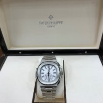 Patek Philippe Nautilus Steel 40.5mm White No numerals