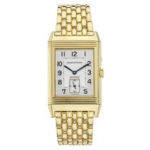 Jaeger-LeCoultre Yellow gold Manual winding 42mm pre-owned Reverso Duoface
