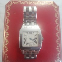 Cartier Santos Demoiselle pre-owned 26mm White