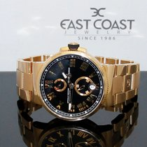 Ulysse Nardin Marine Chronometer Manufacture Rose gold 45mm Black United States of America, Florida, Miami