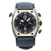 Bell & Ross BR 02 Rose gold 44mm Black Arabic numerals United States of America, New York, NYC