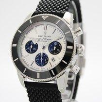 Breitling Superocean Héritage Chronograph Steel 44mm Silver
