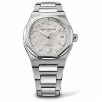 Girard Perregaux Laureato 81010-11-131-11A New Steel 42mm Automatic
