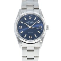 Rolex Air King Precision Steel 34mm Blue United States of America, Georgia, Atlanta