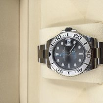 Rolex Yacht-Master 37 Acero 37mm Gris Sin cifras