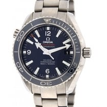 Omega Seamaster Planet Ocean Coaxial In Titanium 45.5 Mm