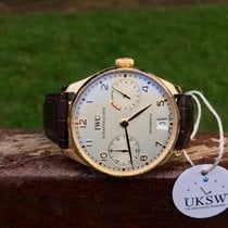 IWC Portuguese 7 Days - 18ct Rose Gold - IW500113
