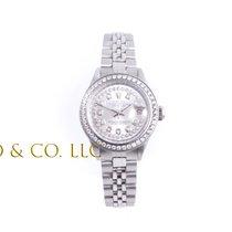 Rolex Lady Datejust - Silver String Diamond Dial - Diamond...