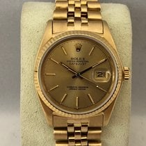 Rolex Datejust Yellow Gold 16018 / 36mm