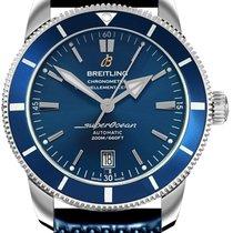 Breitling Superocean Héritage II 46 Zeljezo 46mm Plav-modar Bez brojeva