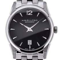Hamilton Jazzmaster Slim Steel 40mm Black