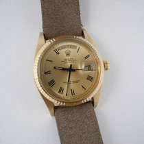 Rolex Day-Date plexiglas 18k gold year 1974 with box