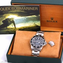 Rolex Submariner Date rabljen 40mm Zeljezo