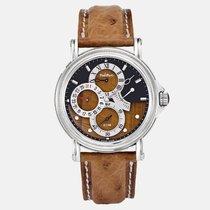 Paul Picot neu Automatik Chronometer Gangreserveanzeige Limitierte Serie 42mm Stahl Saphirglas