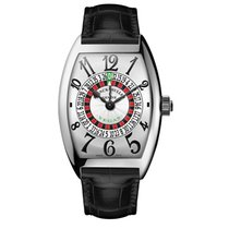 Franck Muller Vegas White gold 43mm Silver Arabic numerals United States of America, New York, New York