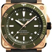 Bell & Ross Bronze Green 42mm new BR 03