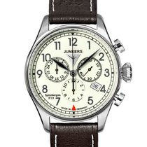 Junkers 38mm Chronograph 6186-5 new