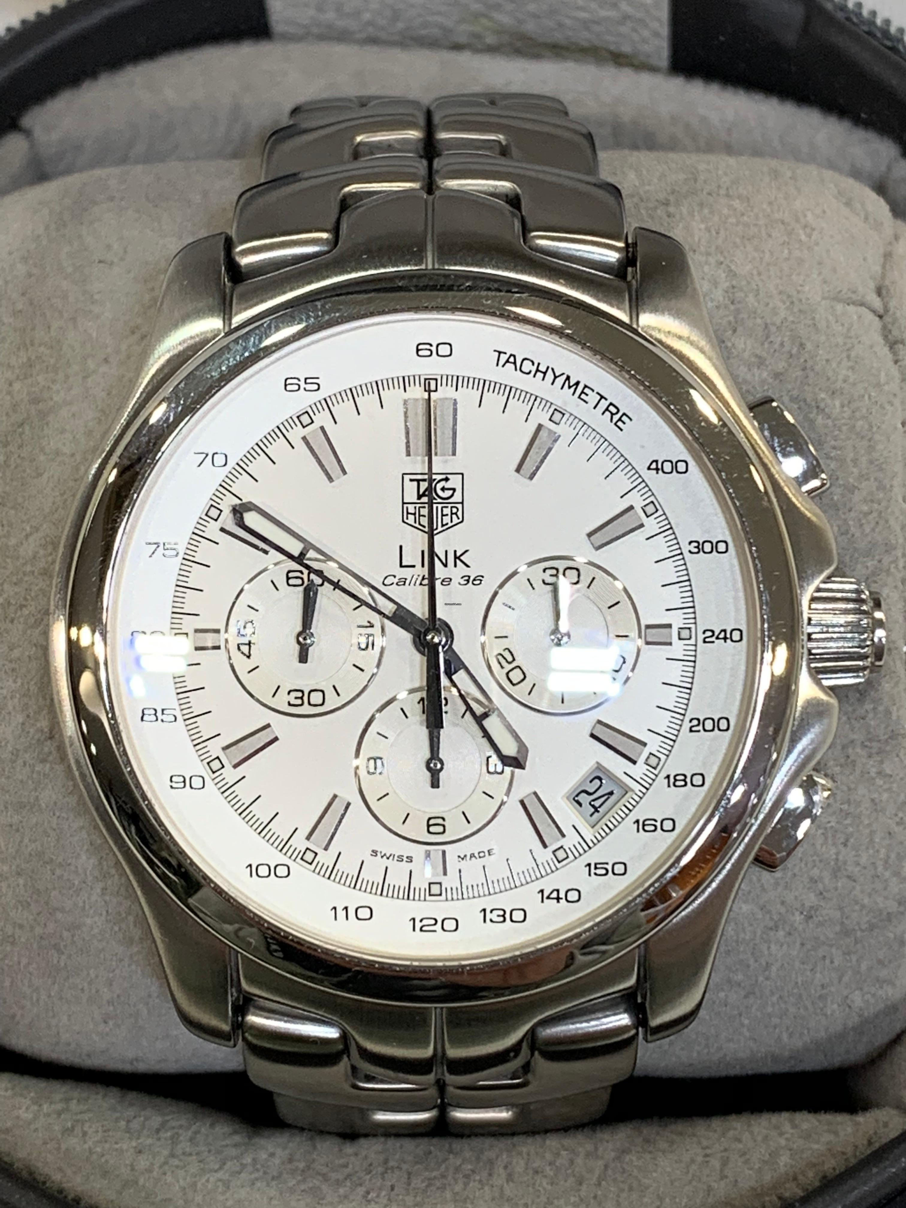 af3498e30d4 TAG Heuer Link Calibre 36 for $3,332 for sale from a Trusted Seller ...