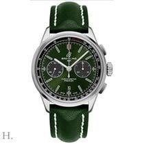 Breitling for Bentley Stahl 42mm Grün