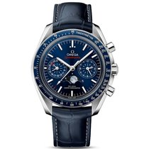 Omega Speedmaster Professional Moonwatch Moonphase Steel 44.25mm Blue No numerals United Kingdom, London