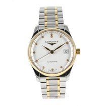 Longines Master Collection pre-owned 35mm Grey Gold/Steel