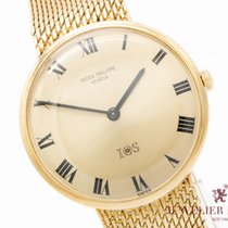 Patek Philippe Yellow gold Manual winding Gold 35mm pre-owned Calatrava